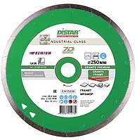 Алмазный диск Distar 1A1R 250x1,7x10x25,4 Granite Premium (11320061019)