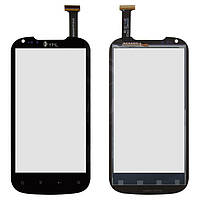 Touchscreen (сенсорный экран) для Thl W1 / W1+, черный, оригинал