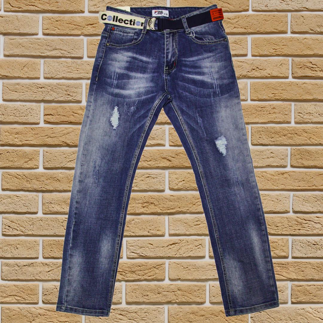 Дитячі джинси для хлопчика ріст 122-128 сині
