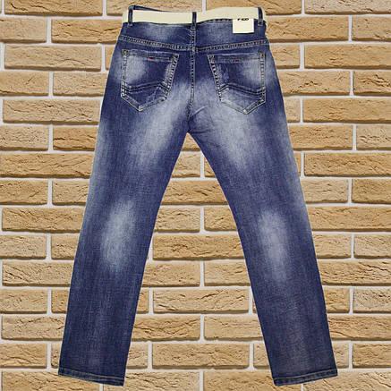 Дитячі джинси для хлопчика ріст 122-128 сині, фото 2