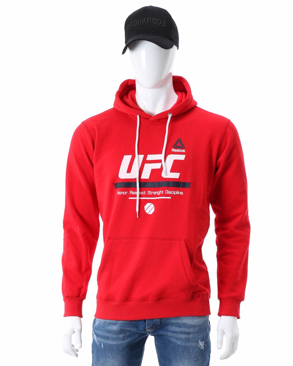 Худи осень-зима красный UFC 'Respekt' Т-2 RED XL(Р) 19-452-203
