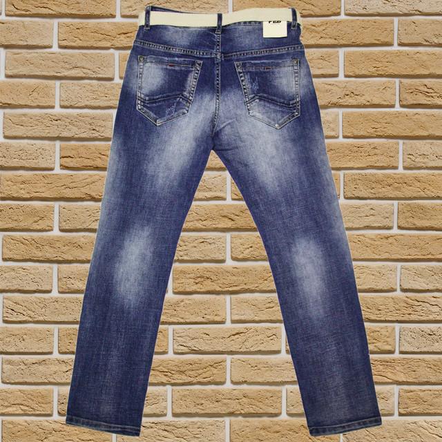 Підліткові джинси для хлопчика 122-176 зростання сині