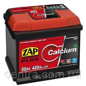 Автомобильный аккумулятор ZAP Plus 6СТ-50 R+ (H-175) 420A