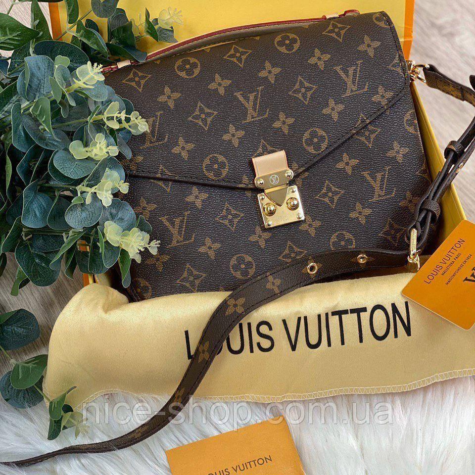 Сумка Louis Vuitton Metis кожа монограмм в коробке