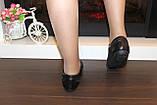 Кроссовки женские черные натуральная кожа Т88, фото 7