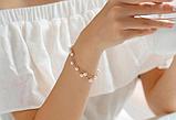 Комплект украшений серьги, браслет и ожерелье код 1206, фото 2