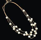 Комплект украшений серьги, браслет и ожерелье код 1206, фото 5