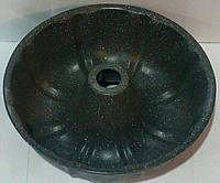 Форма антипригана кекс з втулкою з гранітним напиленням Ø 250 мм