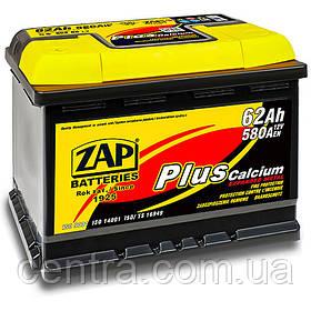Автомобильный аккумулятор ZAP Plus 6СТ-62 L+ 580A