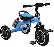 Велосипед трехколесный M 3648, голубой