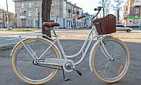 """Велосипед городской Dorozhnik RETRO PH 28"""" белый, фото 1"""