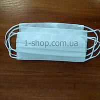 Повязка - маска нестерильная из нетканого материала 3-х слойная. ЕСТЬ СЕРТИФИКАТ, фото 1