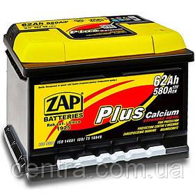 Автомобильный аккумулятор ZAP Plus 6СТ-62 R+ 580A (H-175)