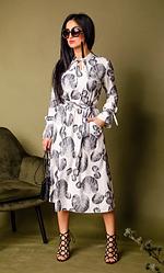Нежное молодёжное платье размеры двойные 42-44