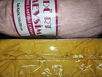 Трикотажная простынь на резинке Хлопок Турция 100*200 односпальная в роддом розовый меланж