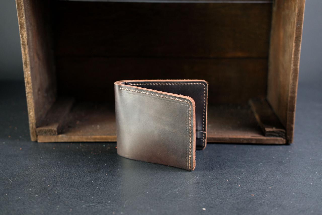 Классическое портмоне на 6 карт Краст кофе