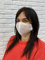 Хлопковая защитная маска для лица, маски от вируса