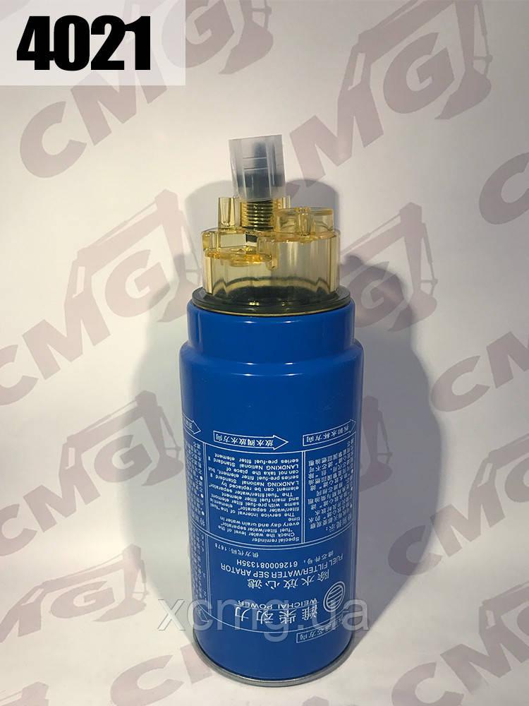 Фільтр паливний 612600081335, 4110000112006 на двигун Weichai WD615 WD10, ZL50G, LW300KN, XCMG