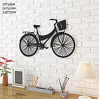 """Декор для стен. Панно из металла """"Велосипед"""""""