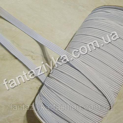 Резинка бельевая прочная 8мм белая