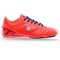 Сороконожки обувь футбольная подростковая Zelart, верх-PU, подошва-RB, р-р 36-41, оранжевый (DW019407-1)