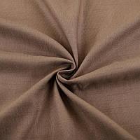 Лен стрейч с хлопком коричневый ш.145 (12654.005)