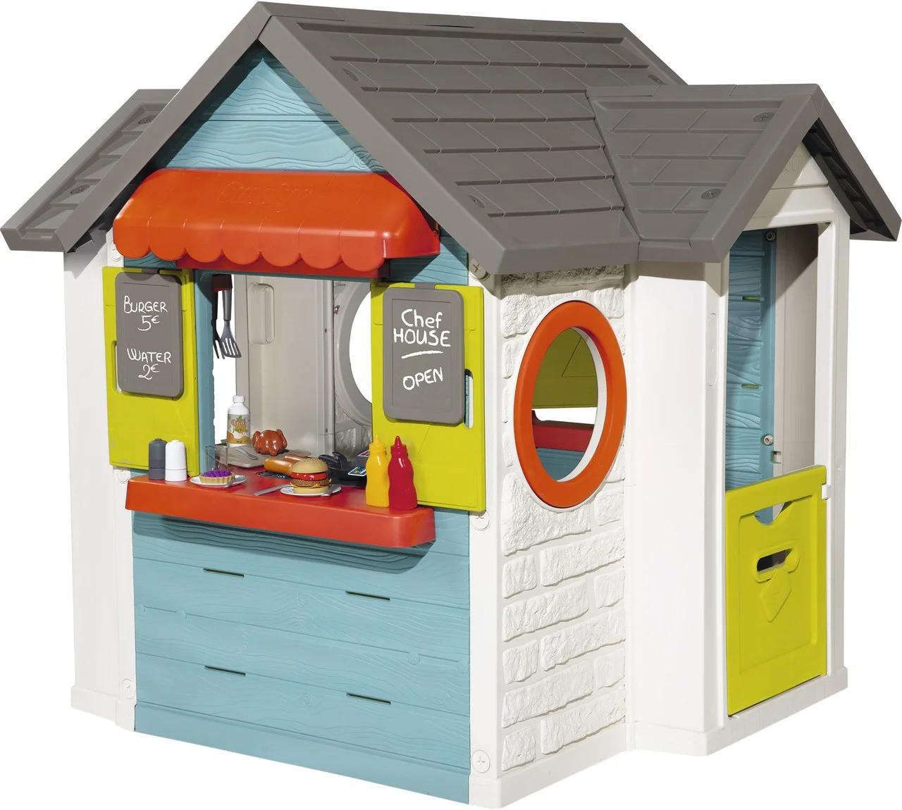 Детский игровой домик Smoby Шеф Хаус 810402 для детей