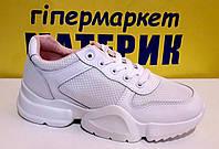 Кросовки женские 679-3 белые