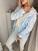 Весняний турецький велюровий плюшевий костюмчик, пояс штанів на гумці