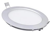 Лед светильник потолочный круг  6W