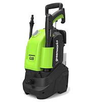 Мийка високого тиску Greenworks G20 110 Бар 1500 Вт
