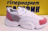 Кросовки женские белые 315-3А