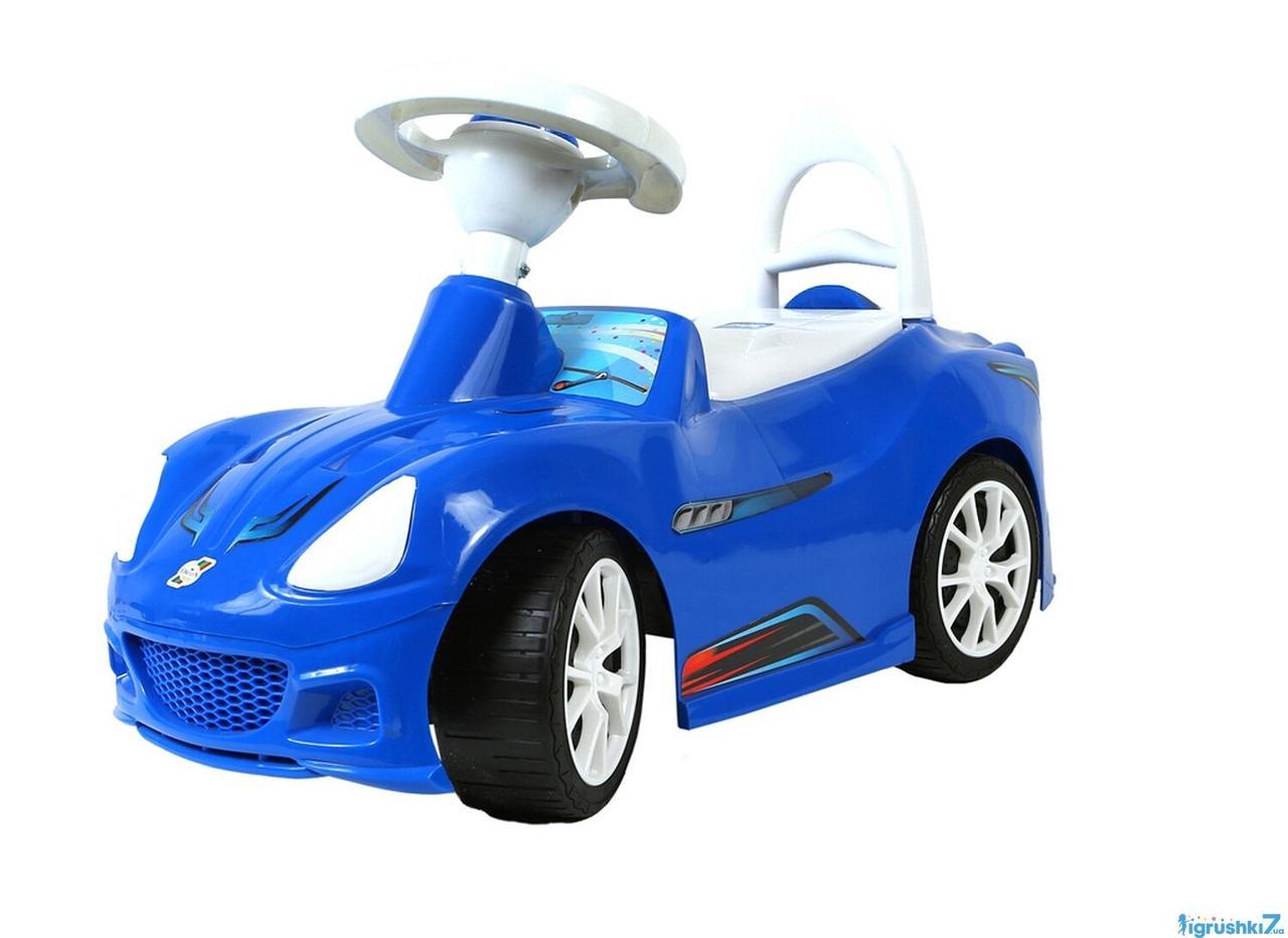 Машина каталка толокар ОРІОН Спорткар 160 синій