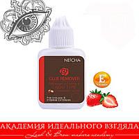 Ремувер жидкий  с витамином Е клубника Neicha 10г