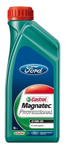Моторное масло Castrol MagnatecProfessionalD 0W-30 Ford 1 л