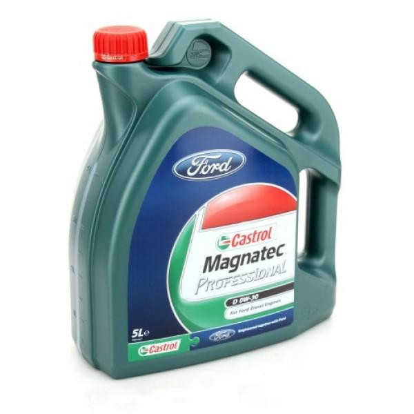 Моторное масло Castrol MagnatecProfessionalD 0W-30 Ford 5 л