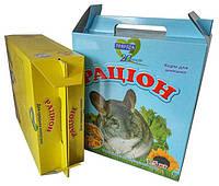 Картонная упаковка кормов и товаров для животных