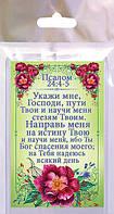 Магніт СвитАрт М 131, розмір 52х78мм. «Вкажи мені, Господи, дороги Твої... Пс. 24:4-5»