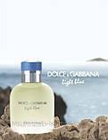 Мужской одеколон Dolce & Gabbana Light Blue Pour Homme (Дольче Габбана Лайт Блю Пур Хом) в чехле!, фото 3