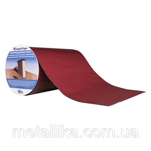 Бутилкаучуковая лента LogicTape ral 3005 (150 мм/10 м)