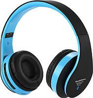 Беспроводные Bluetooth стерео наушники Dellta STN-12 с МР3 и FM черный