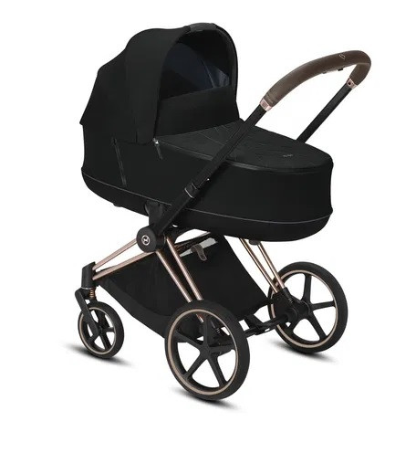 Коляска-люлька Cybex Priam Lux R Deep Black