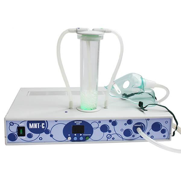 Апарат для приготування синглетно-кисневої суміші (СКС) для проведення інгаляцій(СК) МІТ-С одноканальний