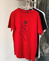Женская футболка с коротким рукавом принт Турция ассортимент