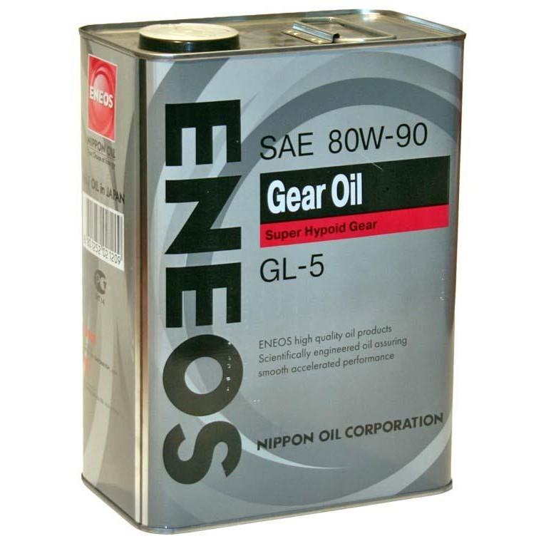 Трансмиссионное масло ENEOS Gear Oil GL-5 80W-90 4л
