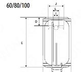 Водонагреватель (бойлер) Braun SMART 60-80-100 л, фото 8