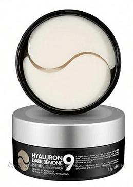 Осветляющие патчи с пептидами Medi Peel Hyaluron Dark Benone Peptide 9 Ampoule Eye Patch