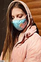 детская защитная маска с рисунком