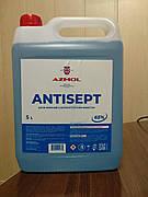 АНТИСЕПТИК AZMOL канистра 5 литров. (спирт не менее 65%)