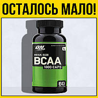 Аминокислоты в капсулах BCAA 1000   60 капсул optimum nutrition бцаа оптимум нутришн